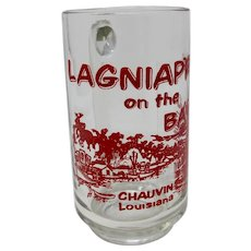 Lagniappe on the Bayou Chauvin Louisiana Beer Mug