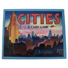 1945 Cities Card Game