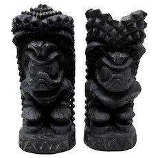 1974 Hawaiian Island Products Lava Tiki Gods of Happiness & Strength