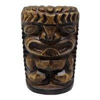 1960s Tiki Ceramic Salt Shaker