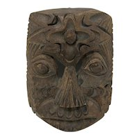 Small Hand-Carved Polynesian Mask