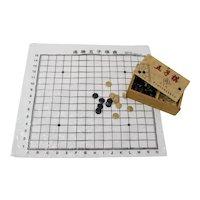 Gomoku Japanese Board Game In Wooden Box