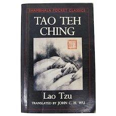 Shambhala Pocket Classics Tao Teh Ching by Lao Tzu