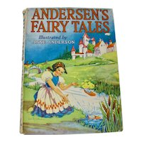 "1957 ""Andersen's Fairy Tales"" Illustrated Hardcover"