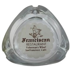 Franciscan Restaurant Fisherman's Wharf San Francisco Ashtray