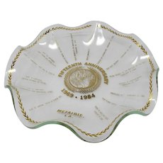 Mardi Gras Krewe of Atlas 15th Anniversary Candy Dish