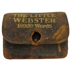 The Little Webster Leather-Bound Lilliput Dictionary
