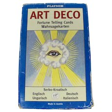 Piatnik Art Deco Fortune Telling Cards
