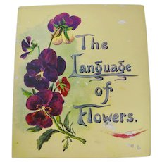 """The Language of Flowers"" Little Book"
