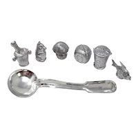 Bleigiessen German New Year's Traditional Lead Divining Kit