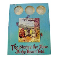 """The Stories The Three Baby Bears Told"" Children's Book"