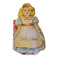 """Dolly Dear"" Victorian Children's Book Reproduction"