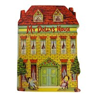 """My Dolly's House"" Victorian Children's Book Reproduction"
