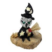 New Orleans Handmade Miniature Witch Figurine