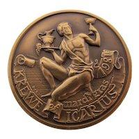 Mardi Gras Krewe of Icarius Rare Copper Doubloon