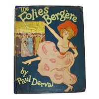 The Folies-Bergère Book by Paul Derval (1955)