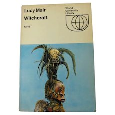 Witchcraft Book by Lucy Mair (1969)