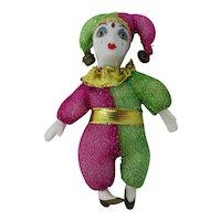 New Orleans Mardi Gras Jester Doll Magnet