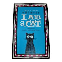 "Soseki Natsume ""I Am A Cat"" Hardcover Book (1982)"