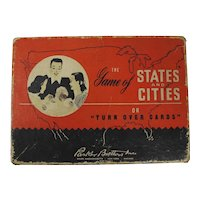 "The Game of States & Cities or ""Turn Over Cards"" (1946)"