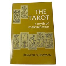 """""""The Tarot: A Myth of Male Initiation"""" Book (1983)"""