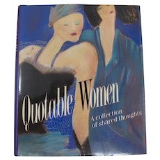Quotable Women Miniature Book