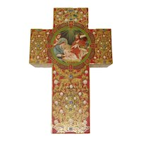 Punch Studio/Kirshner Decorative Arts Collection Cross-Shaped Prayer Box