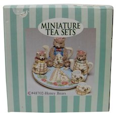 C&F Enterprises Honey Bears Miniature Tea Set