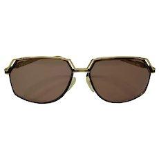 Cazal Model 738 Black & Gold Designer Sunglasses or Eyeglasses
