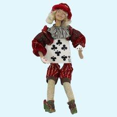 Alice in Wonderland Eight of Clubs Character Doll
