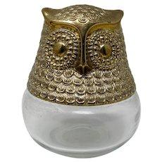 Avon Owl Cologne Gel Jar