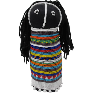 Large South African Ndebele Sangoma Doll