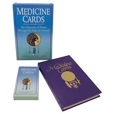 Medicine Cards Boxed Divination Set With Hardcover Book