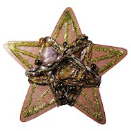 Vintage New Orleans Art Star Brooch