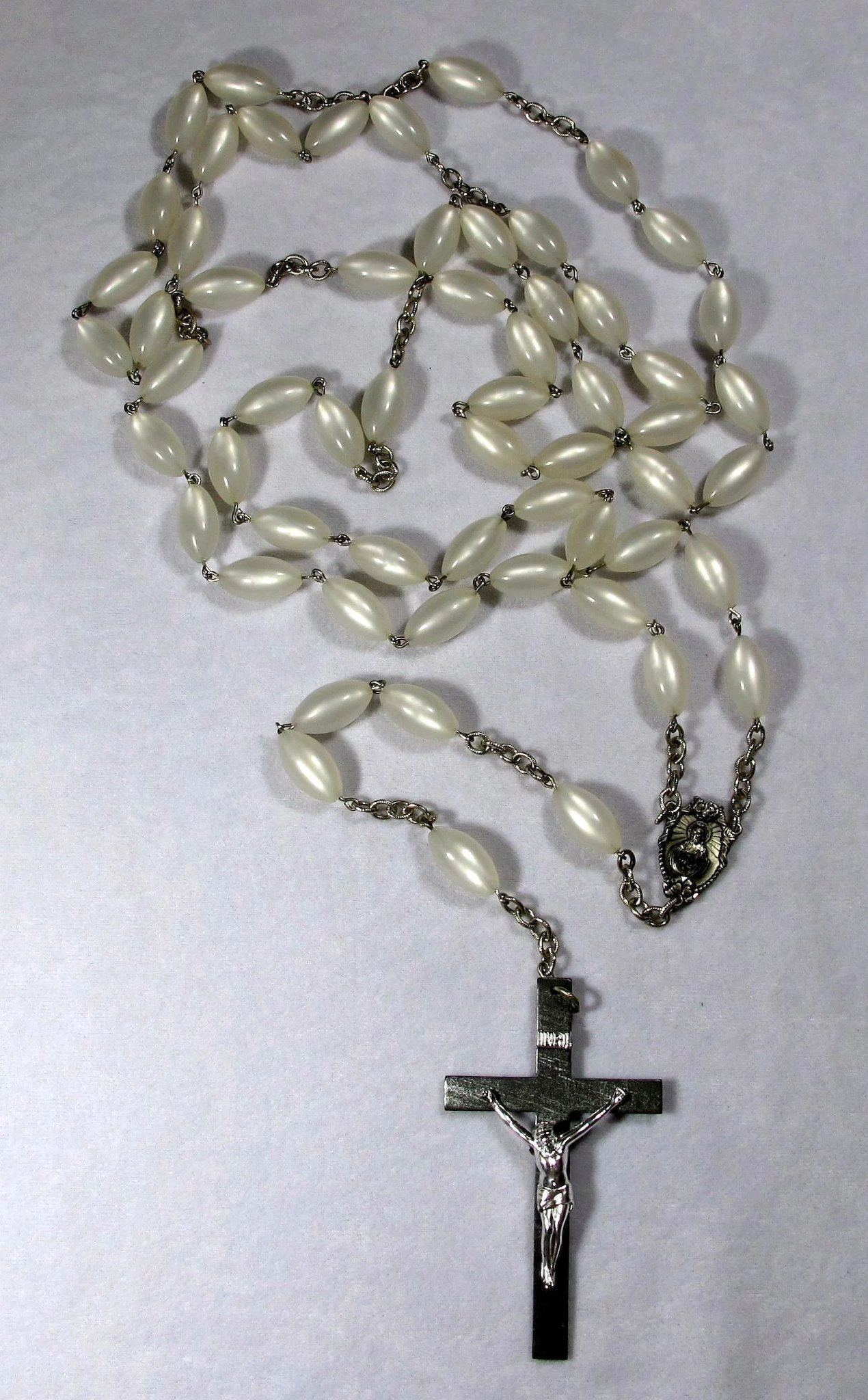 1960s the last rosary large funeral rosary with original box click to expand izmirmasajfo Image collections