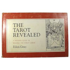 The Tarot Revealed Book by Eden Gray (1960)