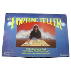 Vintage Fortune Teller Board Game With Cards