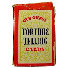 1940 Old Gypsy Fortune Telling Cards
