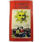 Vintage AG Muller 1JJ Swiss Tarot Card Deck