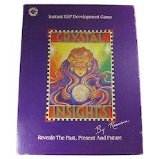 Vintage Crystal Insights Instant ESP Development Board Game
