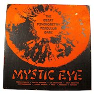 Mystic Eye 1950s Psychometry Pendulum Fortune-Telling Game