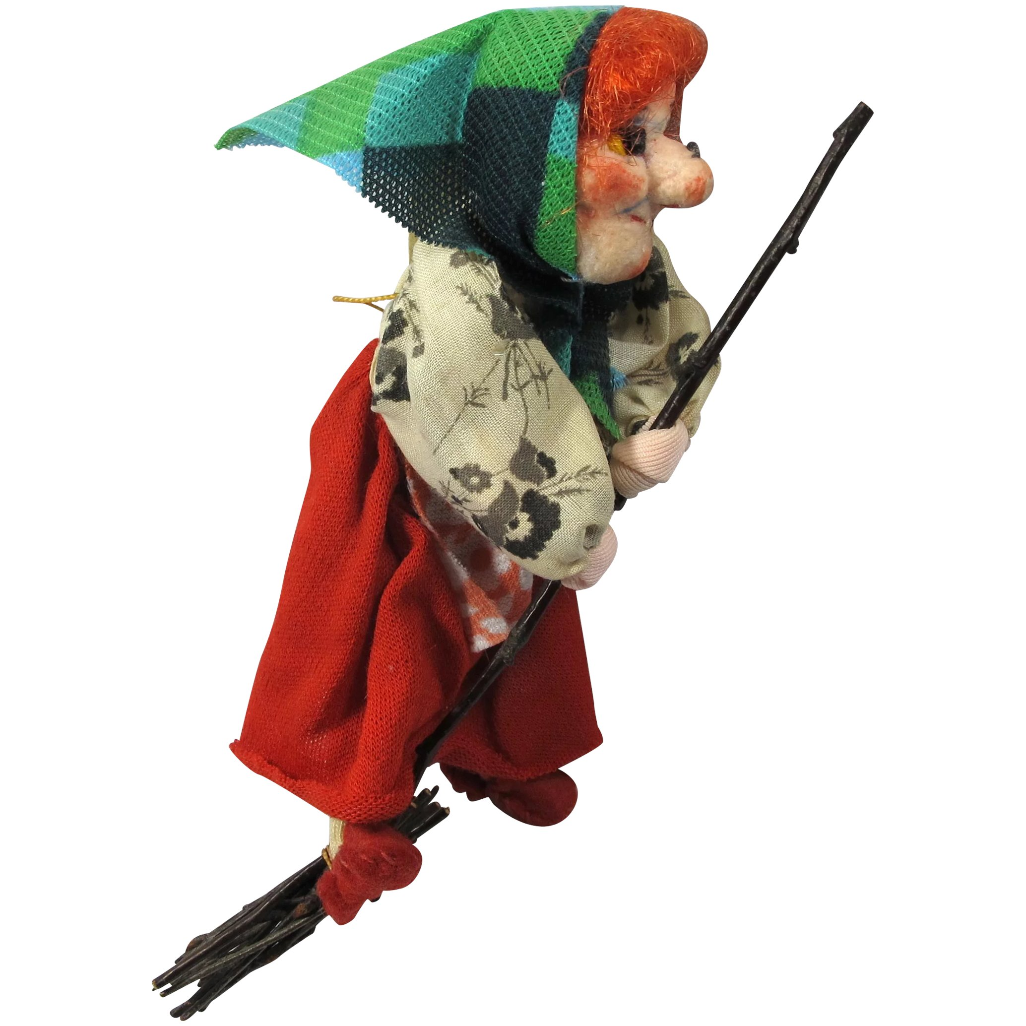 1950s Handmade Kitchen Witch Doll From Germany : PZBaubles New ...