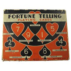 1936 Fortune Telling Playing Cards