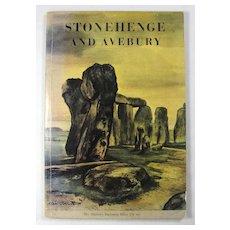 1971 Guide Book To Stonehenge & Avebury Standing Stones