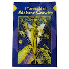 Vintage Tarocchi di Aleister Crowley Italian Tarot Deck
