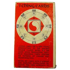 1971 AG Muller I Ching Cards With Coins