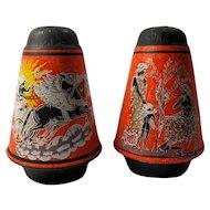 Vintage Greek Gods Salt & Pepper Shakers
