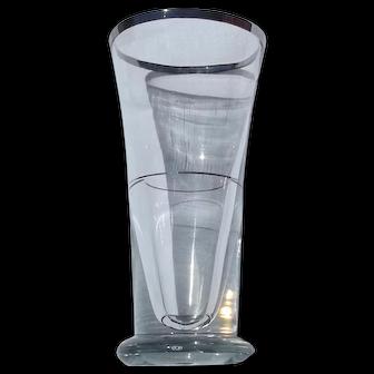 Antique french Absinthe glasses wine glass Paris Bar Belle Epoque