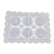 Vintage 1920s English Lace Drinks Tray Mat