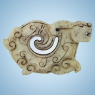 A Chinese Shang-Western Zhou Dynasty jade rabbit pendant